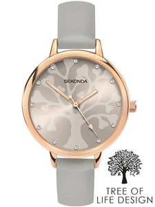 SEKONDA LADIES' EDITIONS TREE OF LIFE DESIGN WATCH