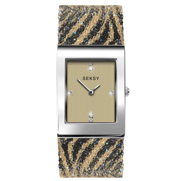 SEKSY LADIES' ROCKS DRESS WATCH