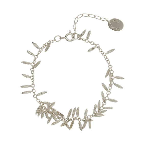 ALEX MONROE FENNEL KISSING SEED BRACELET