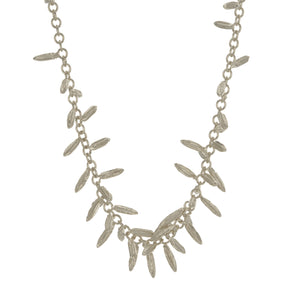 ALEX MONROE FENNEL KISSING SEED NECKLACE