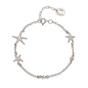 ALEX MONROE STARFISH CONSTELLATION BRACELET