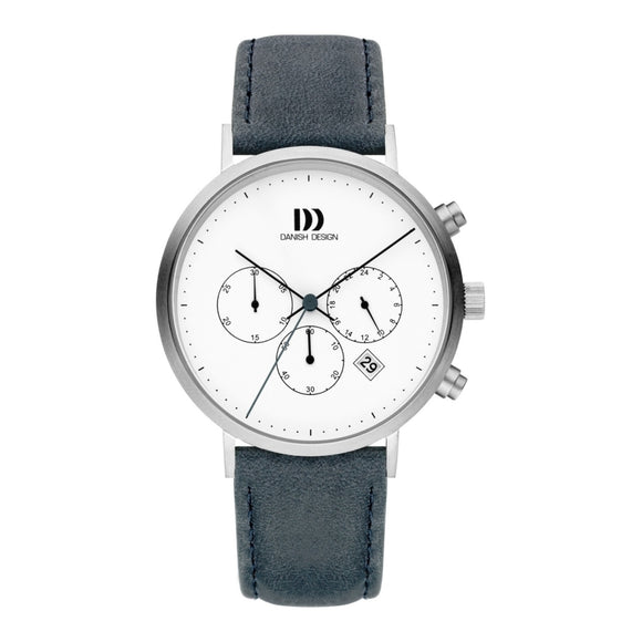 DANISH DESIGN MEN'S BERLIN CHRONOGRAPH WITH LEATHER STRAP