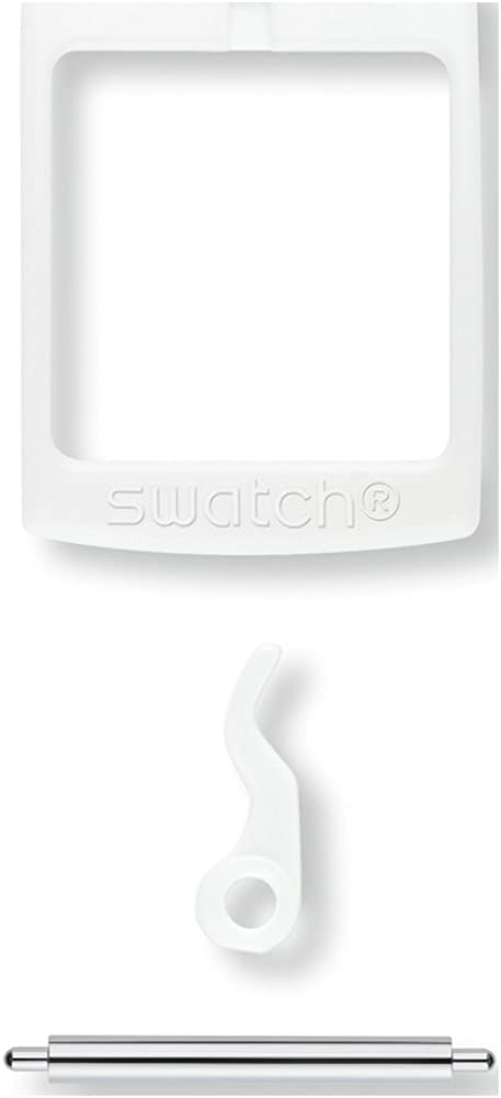 SWATCH BUCKLE WHITE
