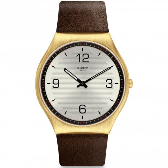 SWATCH SUIT COFFEE