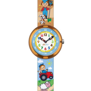 CHILDREN'S FLIK FLAK BAUERAMA WATCH