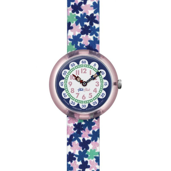 CHILDREN'S FLIK FLAK LONDON FLOWER WATCH