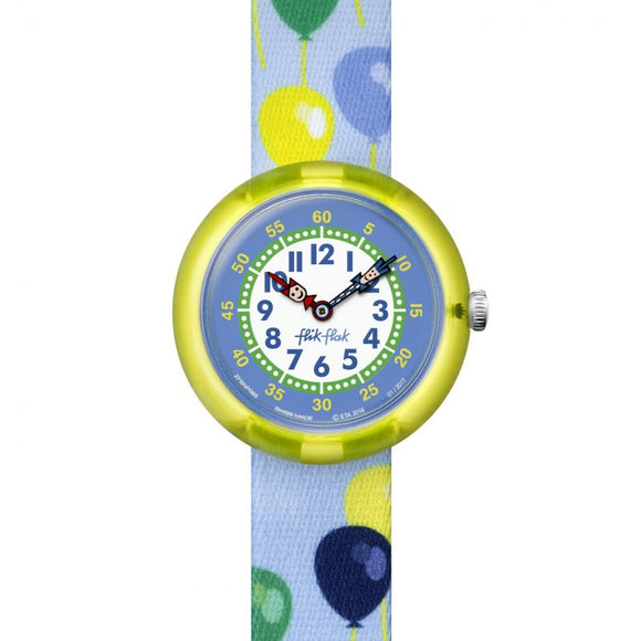 CHILDREN'S FLIK FLAK BALLOLOU WATCH