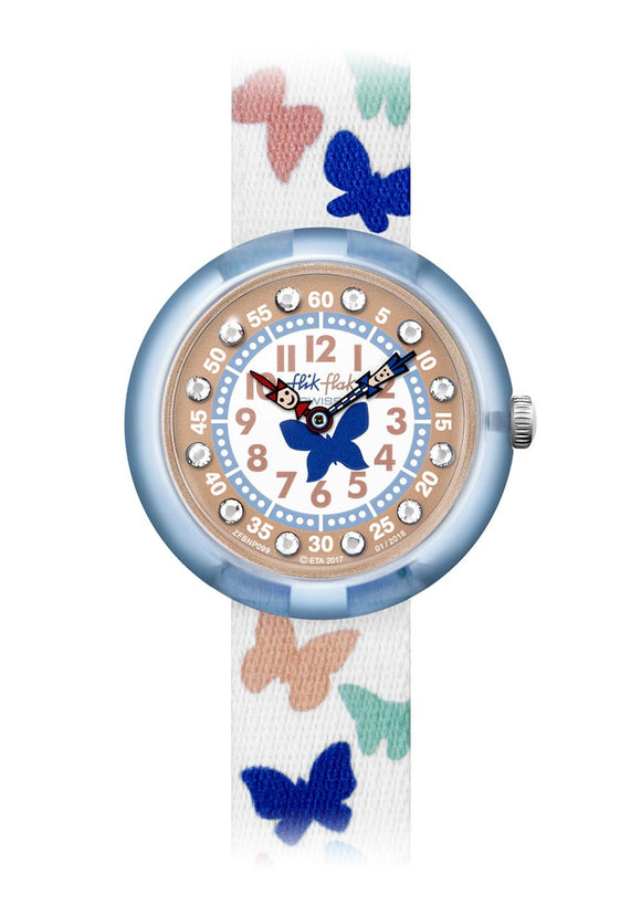 CHILDREN'S FLIK FLAK PAPILLETTA WATCH