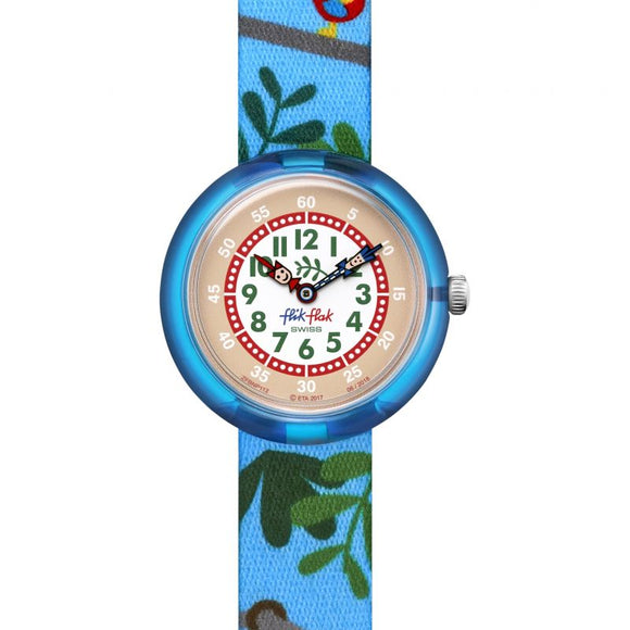 CHILDREN'S FLIK FLAK AMAZOONIA WATCH