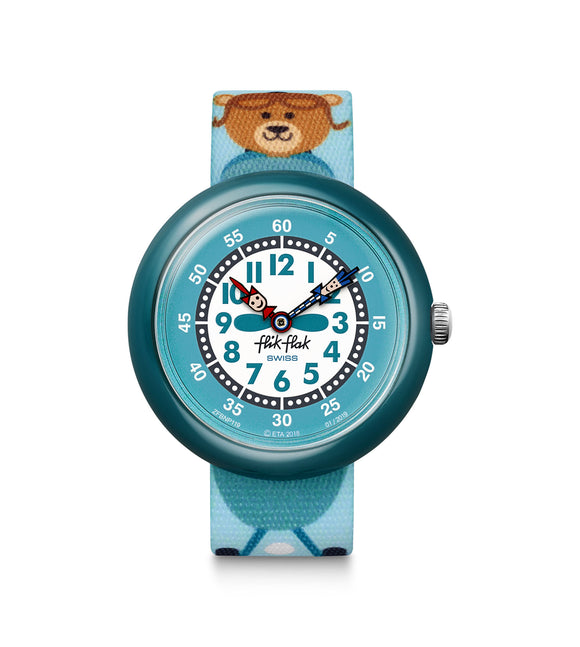 CHILDREN'S FLIK FLAK AEROBEAR WATCH