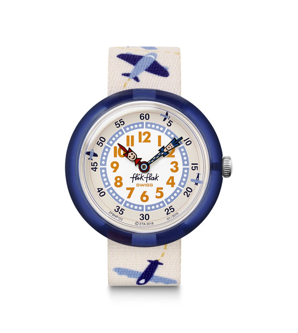 CHILDREN'S FLIK FLAK LOOPILOOP WATCH