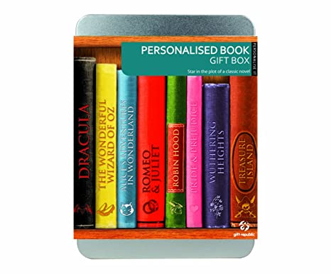 PERSONLISE IT BOOK GIFT BOX