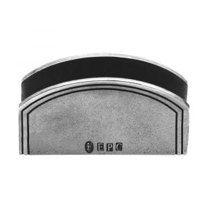 ENGLISH PEWTER CARD HOLDER