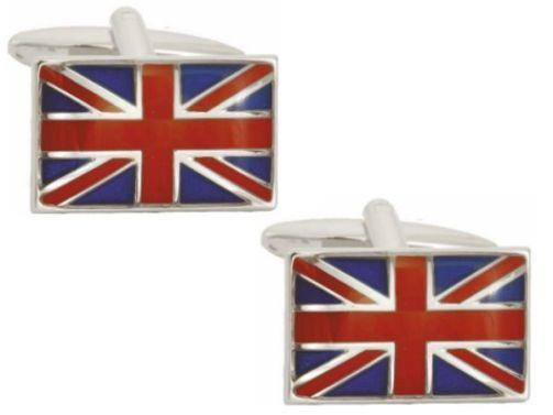 DALACO UNION JACK FLAG CUFFLINKS