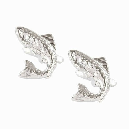 DALACO SALMON FISH CUFFLINKS