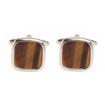 DALACO TIGERS EYE CUFFLINKS
