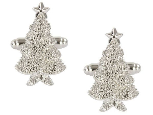 DALACO CHRISTMAS TREE CUFFLINKS