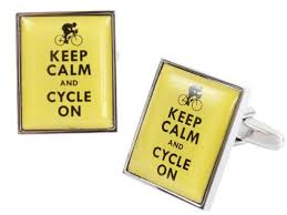 DALACO KEEP CALM CUFFLINKS