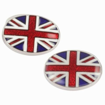 DALACO UNION JACK CUFFLINKS