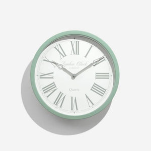 LONDON CLOCK ALICE GREEN WALL CLOCK
