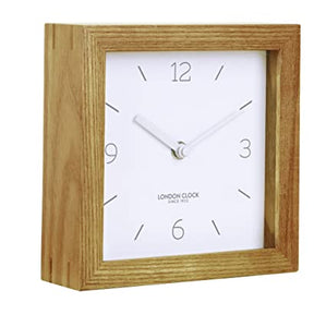 LONDON CLOCK SOLID WOOD MANTEL CLOCK