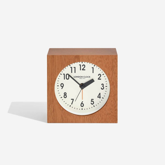 LONDON CLOCK MAXWELL CREAM ALARM CLOCK