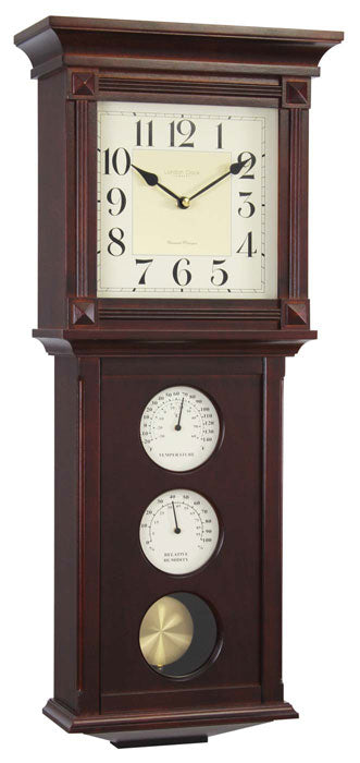 LONDON CLOCK THERMOMETER / HYGROMETER WALL CLOCK