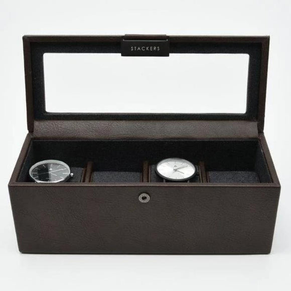 STACKERS 4 PIECE WATCH BOX