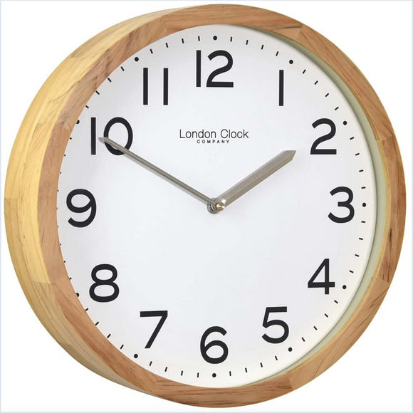 LONDON CLOCK OAK WALL CLOCK