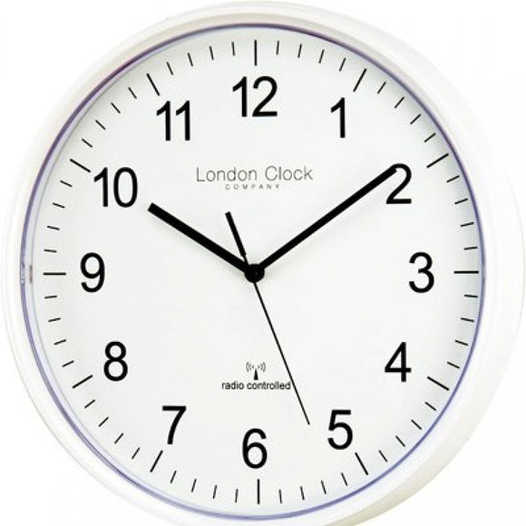 LONDON CLOCK RADIO CONTROLLED WALL CLOCK