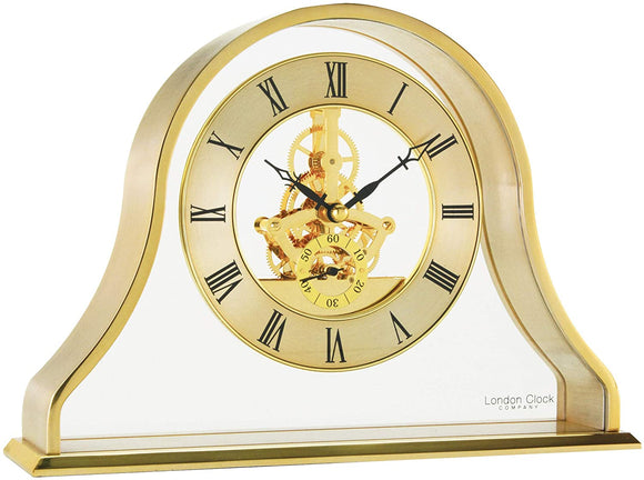 LONDON CLOCK NAPOLEON SKELETON MANTEL CLOCK