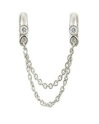ENDLESS SILVER CHAIN OF LOVE CHARM
