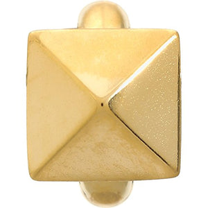 ENDLESS SILVER GOLD PLATED HIGH RISE CHARM