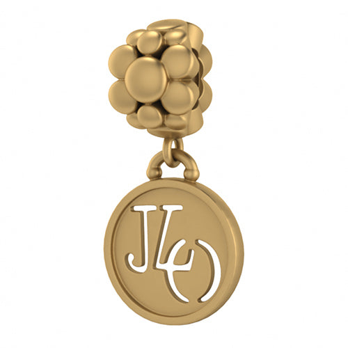 ENDLESS SILVER GOLD PLATED JLO BLOSSOM CHARM