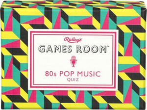 RIDLEY'S GAMES ROOM 80S POP MUSIC QUIZ