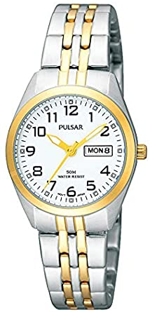 PULSAR LADIES' TWO TONE WATCH