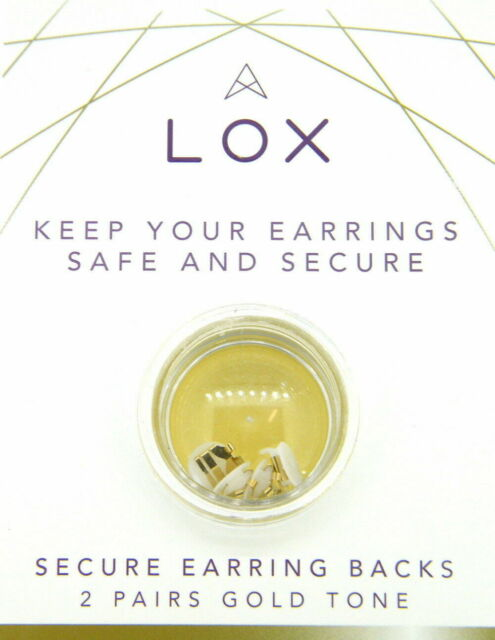 CONNOISSEURS LOX SECURE EARRING BACKS