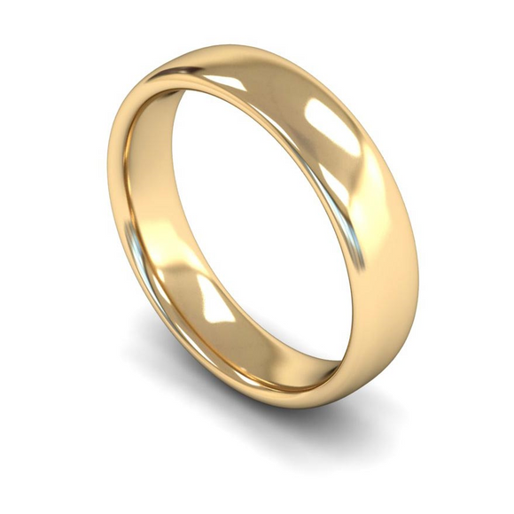 9CT FAIRTRADE YELLOW GOLD WEDDING RING
