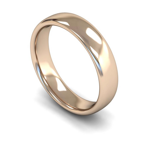9CT FAIRTRADE ROSE GOLD WEDDING RING