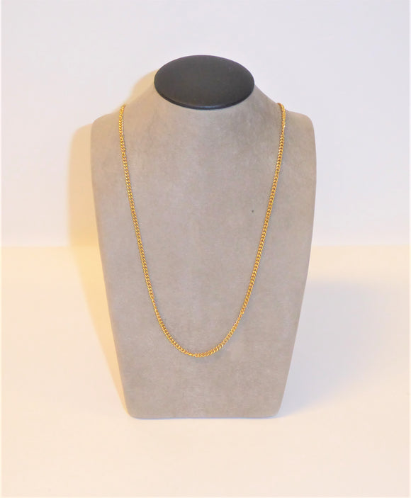SOS GOLD PLATED CHAIN 22