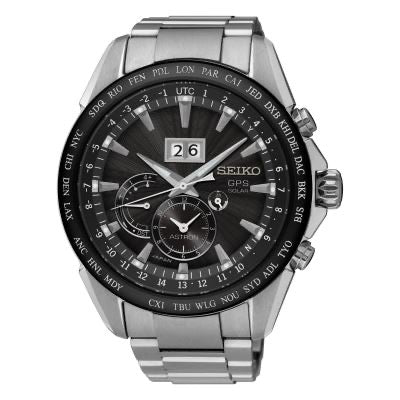 SEIKO MEN'S ASTRON SOLAR GPS WATCH