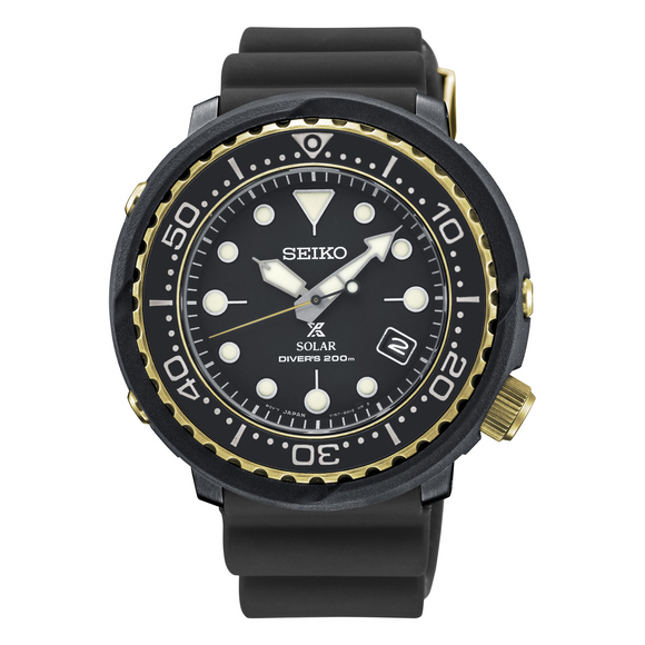 SEIKO MEN'S PROSPEX SOLAR DIVER'S WATCH 200M