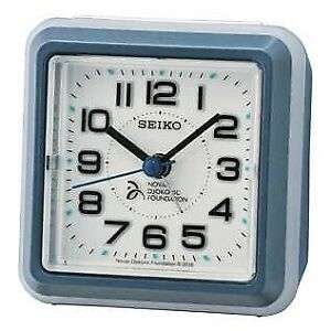 SEIKO NOVAK DJOKOVIC COLLECTION SQUARE ALARM CLOCK