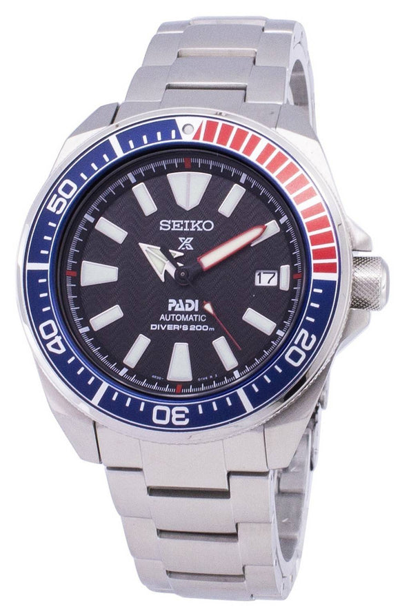 SEIKO MEN'S PROSPEX AUTOMATIC PADI DIVER'S WATCH 200M