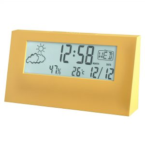 ACCTIM VERTEX WEATHER STATION ALARM CLOCK