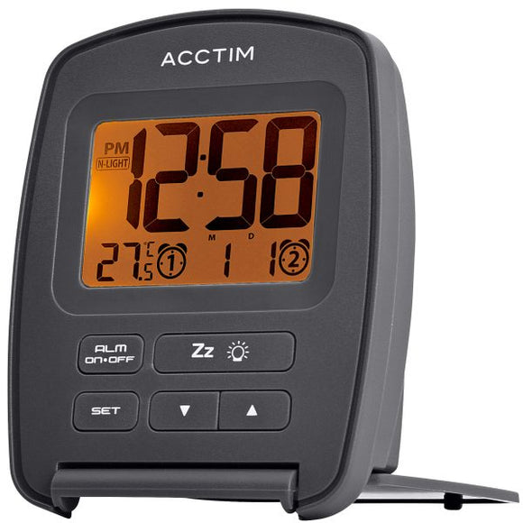 ACCTIM EREBUS TRAVEL ALARM CLOCK