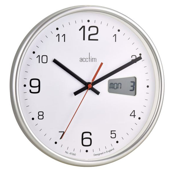 ACCTIM KALENDAR WALL CLOCK