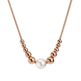 JERSEY PEARL FRESHWATER PEBBLE NECKLACE