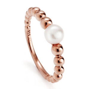 JERSEY PEARL FRESHWATER PEBBLE PEARL RING