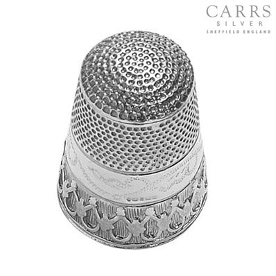 CARRS STERLING SILVER THIMBLE